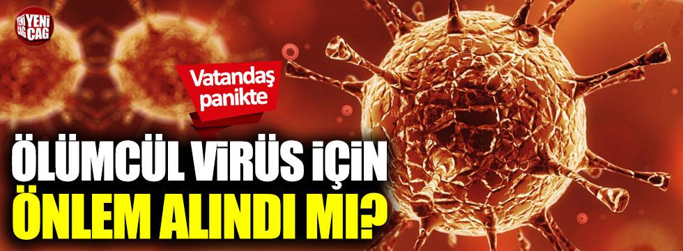 Corona virüsü için önlem alındı mı? Sağlık Bakanlığı...