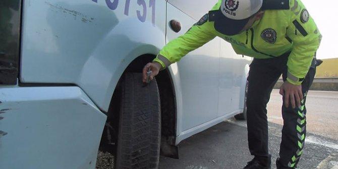 İstanbul'da kış lastiği denetimi