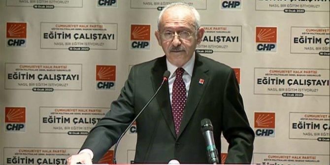 CHP'nin eğitim çalıştayı sonuçlandı