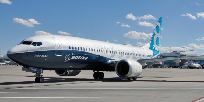 Boeing 737 MAX'ların üretimi resmen durduruldu