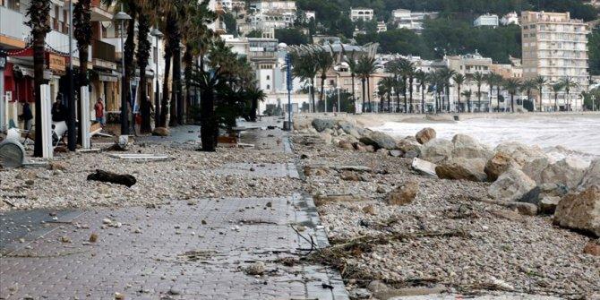 Gloria Kasırgası İspanya'da 9 can aldı