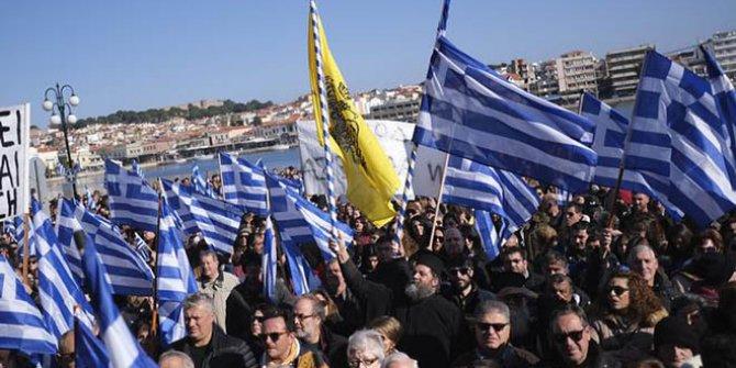 Yunanistan'da sığınmacılara karşı genel grev