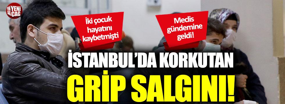 İstanbul'da korkutan grip salgını: Meclis gündemine geldi