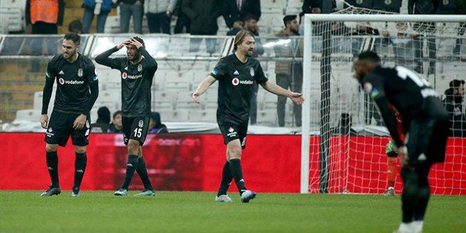 Beşiktaş-Büyükşehir Belediye Erzurumspor: 2-3 (Maçın özeti)