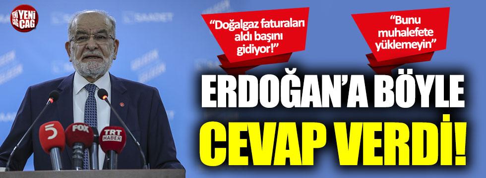 Temel Karamollaoğlu, Erdoğan'a böyle yanıt verdi