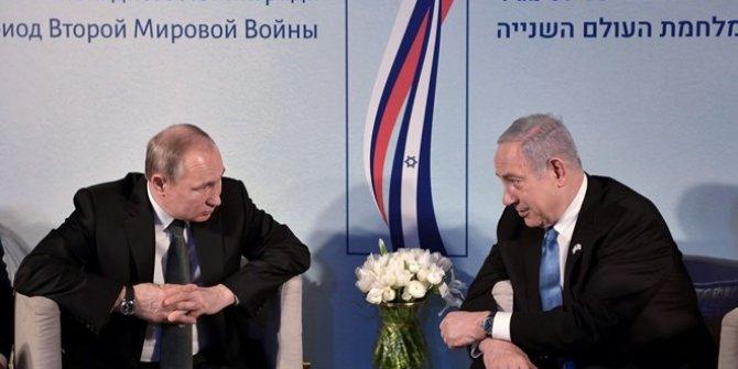 Putin ile Netanyahu bir araya geldi