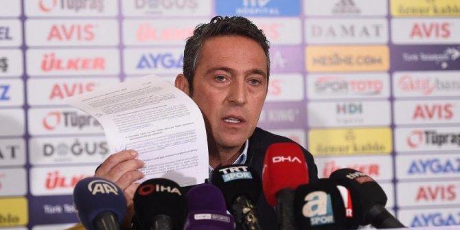Fenerbahçe'den ek harcama limiti açıklaması