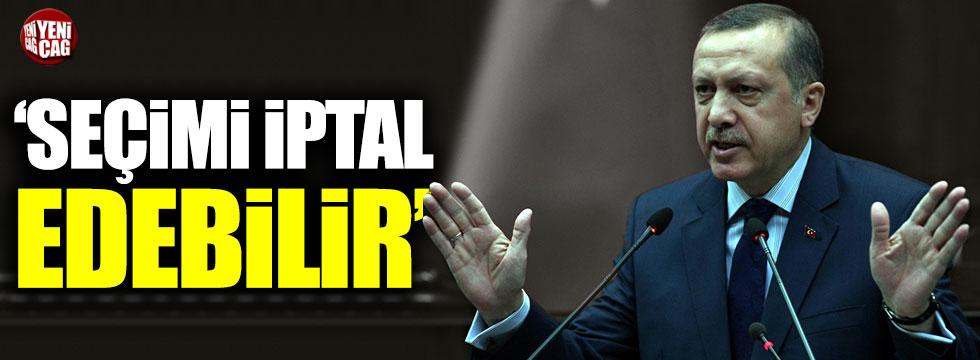 """Abdüllatif Şener: """"Tayyip Erdoğan seçimi iptal edebilir"""""""