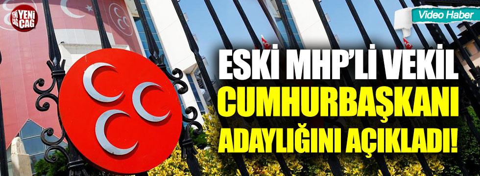 Eski MHP'li Sinan Oğan cumhurbaşkanlığı adaylığını açıkladı!