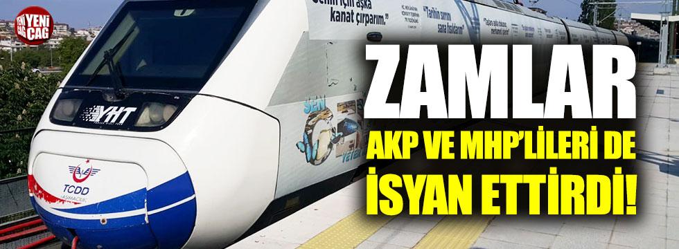 Zamlar AKP ve MHP'lileri de isyan ettirdi!