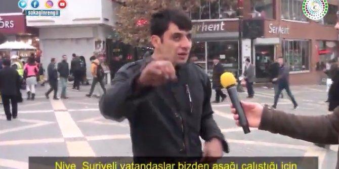 Engelli vatandaşın işsizlik ve Suriyelilerle ilgili sözleri gündem oldu