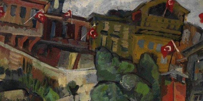 Eyüboğlu çiftinin tabloları sanatseverlerle buluşuyor