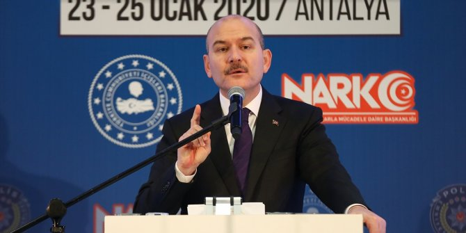 """Süleyman Soylu: """"Tarihin en büyük göç dalgasıyla karşı karşıyayız"""""""