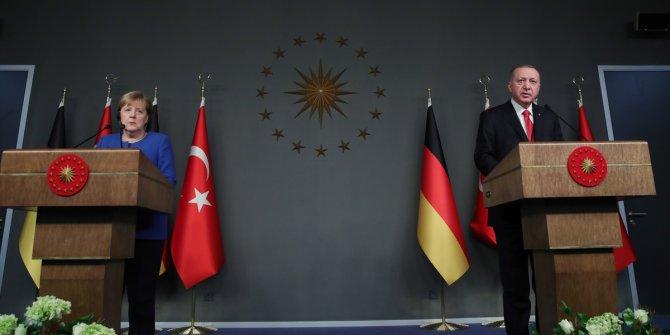 Tayyip Erdoğan ve Merkel'den ortak açıklama