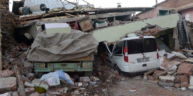 Elazığ'da meydana gelen deprem Malatya'yı da etkiledi
