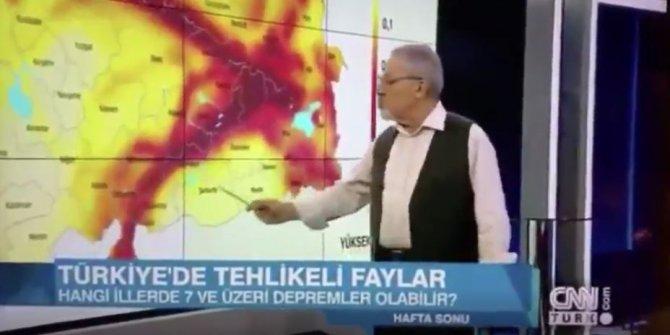 Naci Görür aylar önce Elazığ depremini işaret etmişti