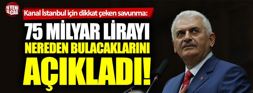 Binali Yıldırım'dan dikkat çeken Kanal İstanbul açıklaması!