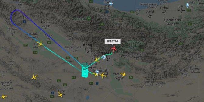 Tahran-İstanbul seferini yapan İran uçağı acil iniş yaptı