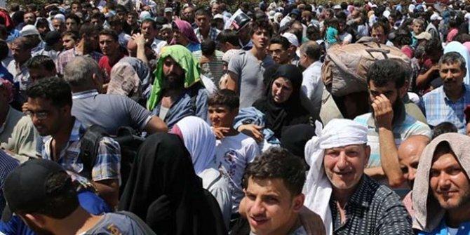 481 bin Suriyeli Türkiye sınırında!