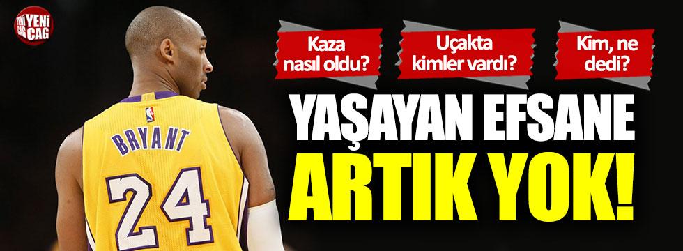Kobe Braynt artık yok!