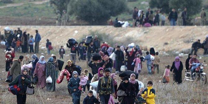 Sınırdaki Suriyelilerin sayısı yarım milyonu geçti