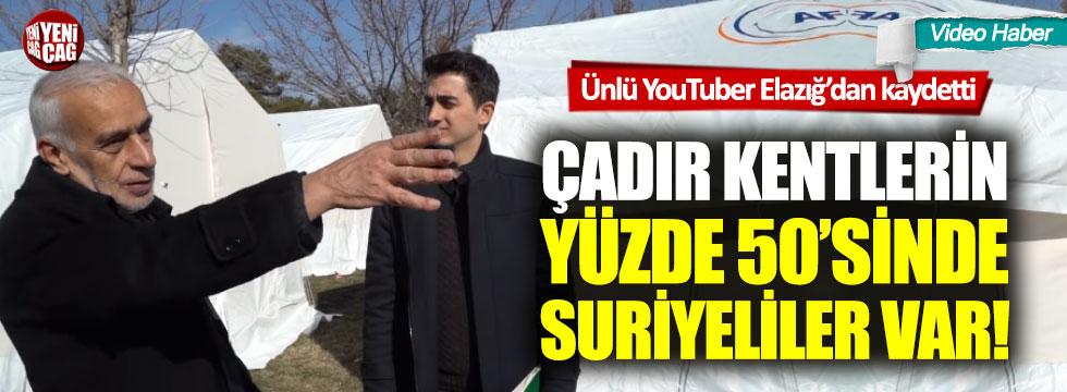 Ruhi Çenet'in kamerasından yansıdı Elazığ'daki yardımlar Suriyelilere gidiyor