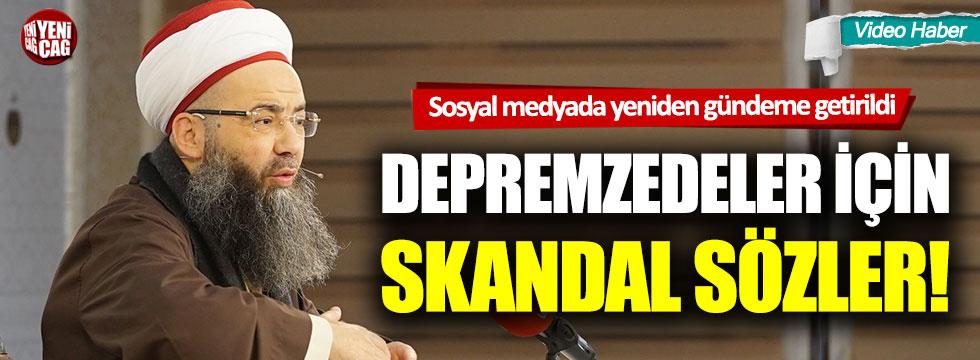 Cübbeli Ahmet'ten tepki çeken deprem konuşması!