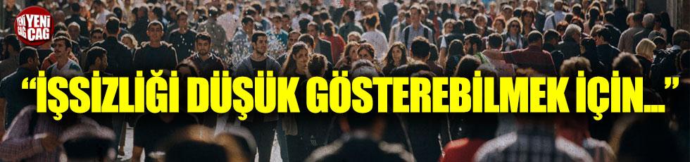CHP'li Gürsel Tekin'den AKP'ye işsizlik çıkışı