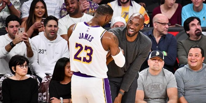 Lebron James'ten Kobe Bryant'a veda mesajı
