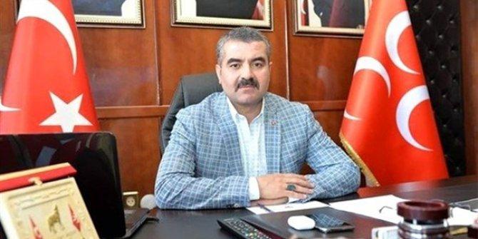 MHP'li il başkanı istifa etti
