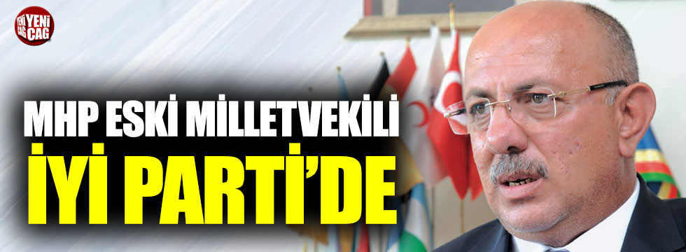 MHP eski milletvekili Ali Torlak İYİ Parti'ye geçti
