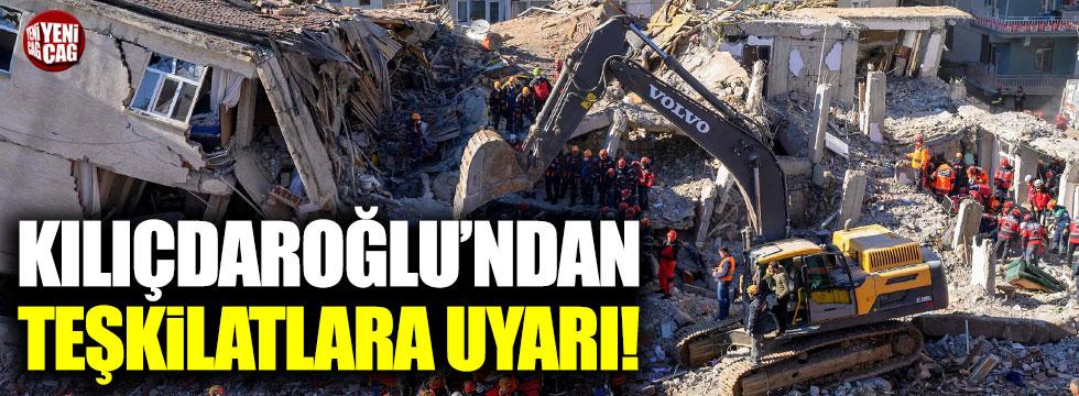 """Kemal Kılıçdaroğlu: """"Deprem vergileri sorgulanmalı"""""""