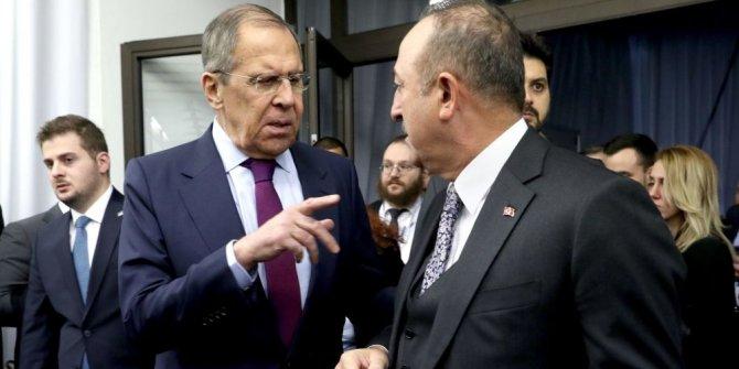 """Lavrov """"Türkiye ile mutabakat sağladık"""""""