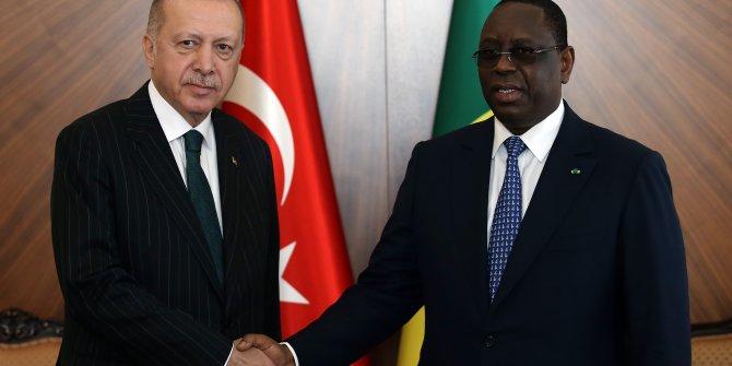 Cumhurbaşkanı Tayyip Erdoğan Senegal'den ayrıldı