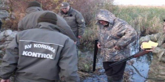 Kaçak avcılar 10 bin 788 lira ceza
