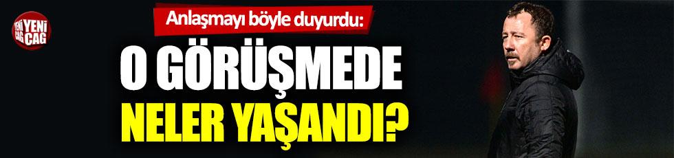 """Sergen Yalçın: """"Beşiktaş ile her konuda anlaştık"""""""