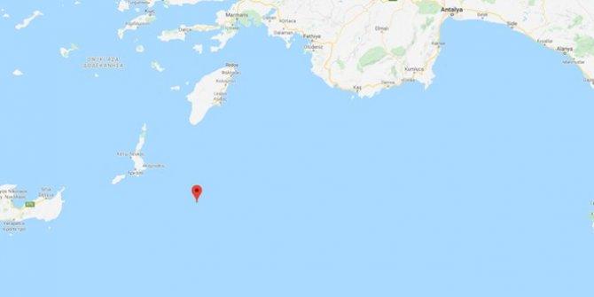 Marmaris'te bir deprem daha!