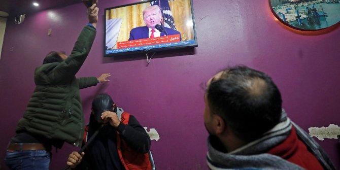 Filistinliler, Donald Trump'a böyle tepki gösterdi!