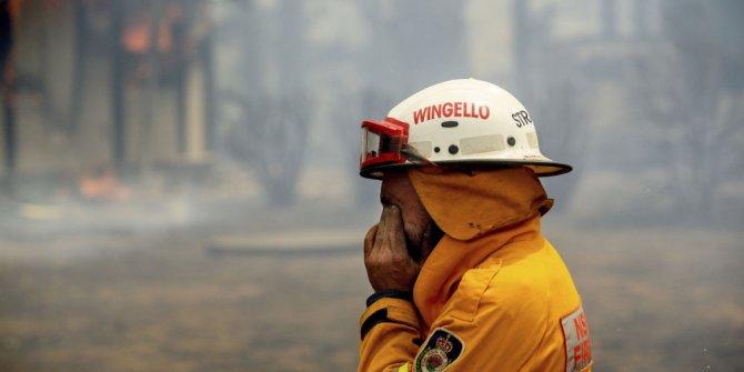 Yangın söndürme helikopteri yangın çıkardı