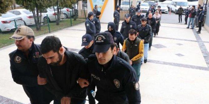 Bombalı araç davasında tutuklamalar