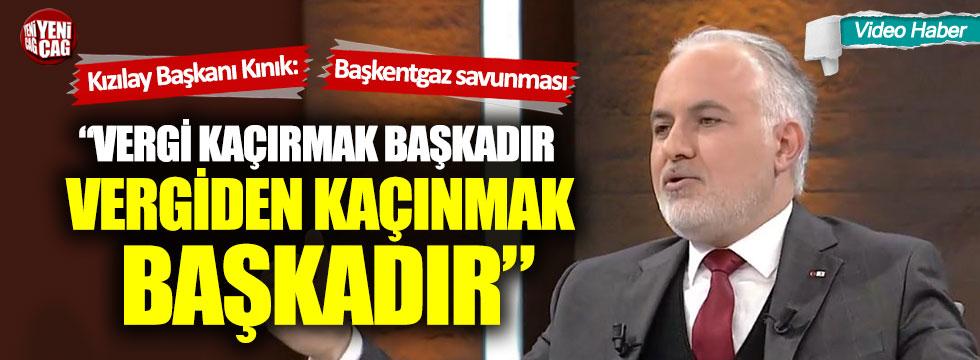 Kızılay Başkanı Kerem Kınık'tan Başkentgaz savunması