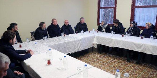 Erdoğan'dan Olçok ailesine taziye ziyareti