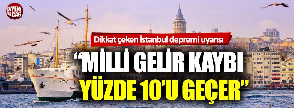 İlhan Kesici: İstanbul depreminde milli gelir kaybı yüzde 10'u geçer