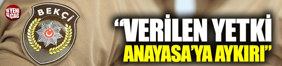 """Süleyman Girgin: """"Verilen yetki Anayasa'ya aykırı"""""""
