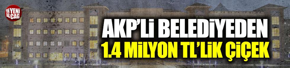 AKP'li Selçuklu Belediyesinden çiçeklere 1 milyon 400 bin TL