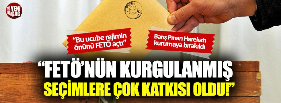 """Aytun Çıray: """"FETÖ'nün kurgulanmış seçimlere çok katkısı oldu"""""""