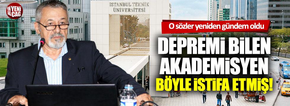 Prof. Dr. Naci Görür'ün istifa açıklaması yeniden gündeme geldi