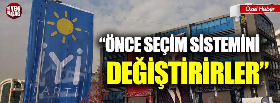"""Nuri Okutan: """"Önce seçim sistemini değiştirirler"""""""