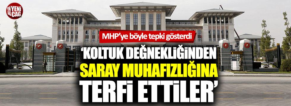 Bülent Tezcan'dan MHP'ye tepki