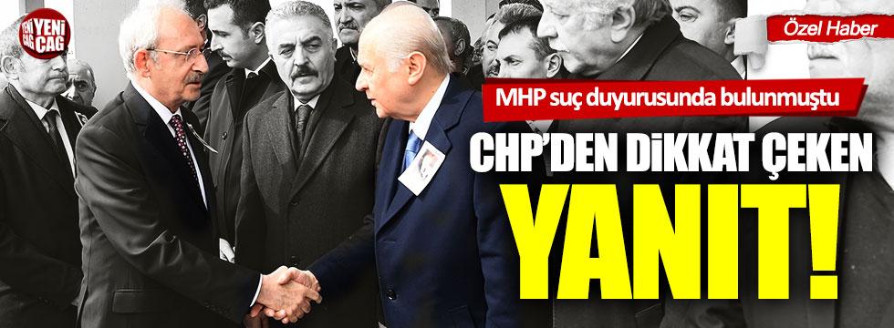 """CHP'li Muharrem Erkek'ten MHP'ye """"suç duyurusu"""" yanıtı"""